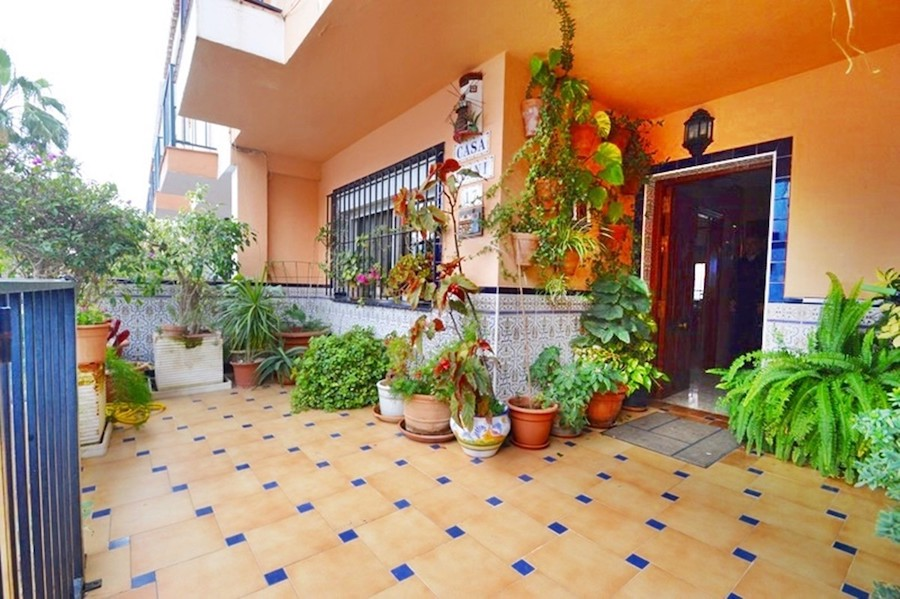 Courtyards and patios are common in Spanish Properties